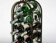 Кованая подставка под вино 0018