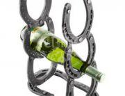 Кованая подставка под вино 0020