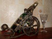 Кованая подставка под вино 0017
