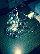 Кованая подставка под вино 0015