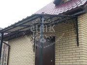 Недорогие кованые козырьки в Москве