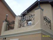 Кованый балкон 21