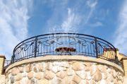 Кованый балкон 14
