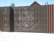 филёнчатые ворота 17