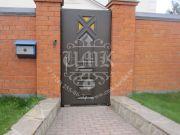 филёнчатые ворота 2