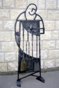 Кованый каминный набор 35