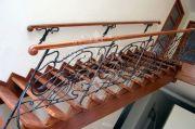 Кованые лестничные ограждения 47