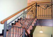 Кованые лестничные ограждения 39