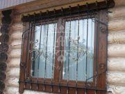 Кованая решётка для окна 37