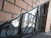 Кованая решётка для окна 43