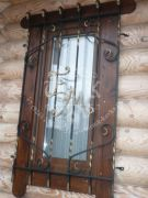 Кованая решётка для окна 38