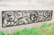Кованая ритуальная ограда 15