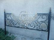 Кованая ритуальная ограда АНГЕЛ