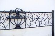 Кованая ритуальная ограда 16