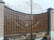 Кованые ворота 12