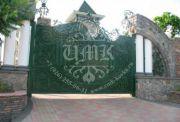 Кованые ворота 13