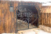 Кованые ворота 4