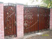 Кованые ворота 9