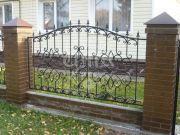 Недорогой кованый забор купить в Москве