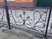 Кованые забор и ограждения 24