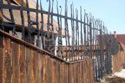 Кованые забор и ограждения 23