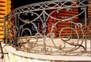 Кованые забор и ограждения 31