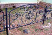 Кованые забор и ограждения 22