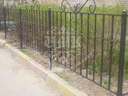 Кованые забор и ограждения 26