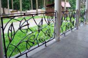 Кованые забор и ограждения 19